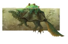 Swamp monster by MySoulDive