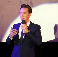 Benedict Cumberbatch  at OffPlusCamera Festival in Cracow, Poland; May 10th 2014