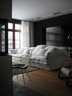 ah, to have a sofa this comfy and a room big enough to put it in