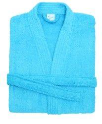 Kimono badjas blauw
