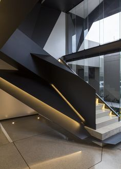 stairs / Kloof Road House | Nico van der Meulen Architects | Archinect