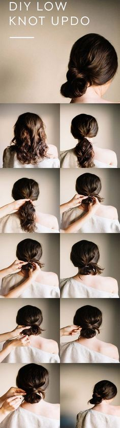 Best Hairstyles For Your 20s - DIY Brides Simple Updo - Hair Dos And Don'ts For Your 20s, With The Best Haircuts For Women In Their 20s, Including Short Hairstyle Ideas, Flattering Haircuts For Medium Length Hair, And Tips And Tricks For Taming Long Hair In Your 20s. Low Maintenance Hair Styles And Looks For A 20 Year Old Woman. . Hairstyles For 25 Year Old Woman. Simple Step By Step Tutorials And Tips For Hair Styles You Can Use To Look Beautiful At Any Event. Hair styles For Curly Hair And