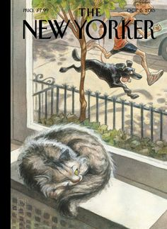 "Cover Story: Peter de Sève's ""Catnap"" - The New Yorker"