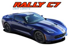 2014 2015 2016 2017 Chevy Corvette C7 Rally Racing Stripes Pro 3M 1080 Vinyl Rally and Racing Stripes Kit - Model Specific Car & Truck Vinyl Graphics Racing Stripes Rally Hood Decals   3M 1080 & Avery Supreme Wrap Air Release Cast Vinyl   Factory OEM Quality Fit & Style