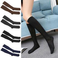 Women Compression Varicose Vein Knee High Stocking Leg Relief Pain Support Socks #Unbranded Knee High Stockings, Stockings Legs, Support Socks, Varicose Veins, Medical, Best Deals, Ebay, Women, Fashion