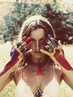 Painted photography with Alexandra Valenti