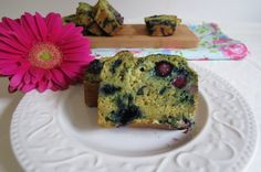 Blueberry Banana Zucchini Avocado Bread