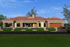 Overall Dimensions- x 1 Car Garage Area- Square meters House Plans For Sale, Free House Plans, Simple House Plans, House Layout Plans, 4 Bedroom House Plans, Bungalow House Plans, Bungalow House Design, Double Storey House Plans, Modern Architecture House
