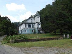 New Salem Baptist Church, Tams, Raleigh Co., WV--AOUWV