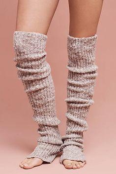 Ribbed Flurry Leg Warmers