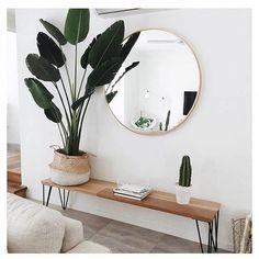 51 Simple And Elegant Scandinavian Living Room Decoration Ideas is part of Simple Living Room Decor - A Scandinavian design in your house means you may enjoy minimal decoration, clean lines, functionality, and a cleanness that's typically […] Living Room Designs, Living Spaces, Plants In Living Room, Bedroom Designs, Living Room Decor Simple, Bench In Living Room, Simple Apartment Decor, Hallway Designs, Cheap Apartment