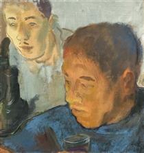 Double Portrait - Alexandre Jacovleff
