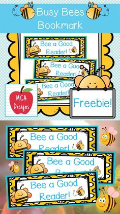 These adorable bookmarks are part of my Busy Bee Classroom Decor collection! I hope you enjoy this freebie :) #teacherspayteachers #tpt #bookmark #classroommanagement Easel Activities, Good Readers, Busy Bee, Teacher Newsletter, Classroom Management, Classroom Decor, Teaching Kids, Teacher Pay Teachers, Bookmarks