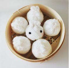 Xiao Long Bao (XLB) #crochetdimsum #dumpling #xiaolongbao #momstermakes #crochet #dimsum #amigurumi #ravelry #crochetersofinstagram #sgcrochet #sgcrocheter