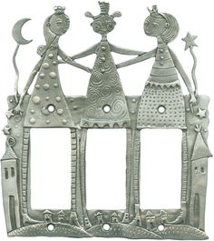 THREE GIRLFRIENDS Switch Plates, Outlet Covers & Rocker Switchplates