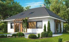 Casa sencilla y moderna con 4 dormitorios
