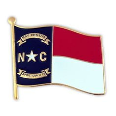 "North Carolina State Flag NC Lapel Pin 1"" -- Check this awesome product by going to the link at the image."