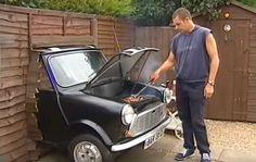 Barbecue dans une vieille voiture.  13 idées de barbecues à fabriquer soi-même