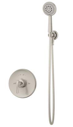 Symmons® - 5203-STN - Ballina™ Shower system w/Hand Shower - Satin Nickel