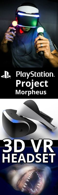 Project Morpheus VR headset by Sony is coming in 2016