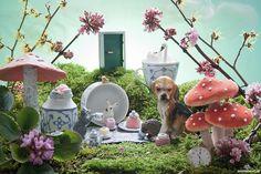 Diorama Alice in Wonderland - Martine Buurman