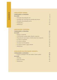 Orientações Pedagógicas para professores da pré escola - Vol III