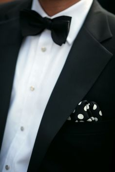 Black and polka dot..