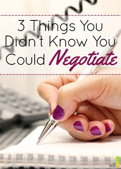 I wish I wasn't so shy about asking for a discount. I didn't know you could negotiate the price on so many things! I'm definitely going to try to negotiate on number 3.