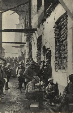 Australian troops,Ypres 1917