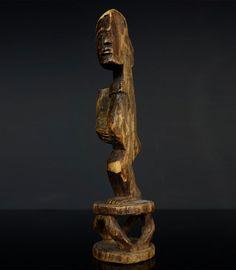 LUVALE HALF FIGURE - MWENDANJANGULA - ZAMBIA - TRIBALLY USED - HAI Tribal Art, African Art, Lion Sculpture, Statue, Sculptures, African Artwork, Sculpture