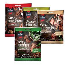 Prepackaged Meat Snacks : Deli Snackers