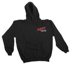 DARE Classic Logo Pullover Hooded Sweatshirt (Medium)