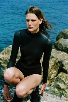 Oyster Fashion: 'Salt Water' By Bruna Kazinoti & Mark Vassallo / Click through for the whole shoot >>>
