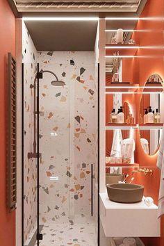 Modern home design – Home Decor Interior Designs Bathroom Design Luxury, Bathroom Design Small, Funky Bathroom, Home Room Design, House Design, Ideas Baños, Beautiful Bathrooms, Modern Interior Design, Bathroom Inspiration