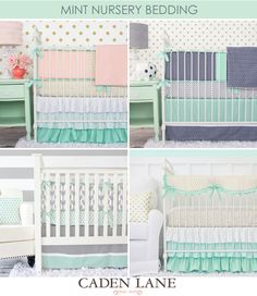 We love predicting color and style trends for nursery design, and 2015 seems to be the year of COLOR! With over 100 different crib bedding sets to pick from, yo