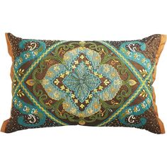 Pier One Beaded Medallion Pillow - Pier 1 Imports - Polyvore