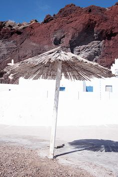Santorini in winter: visiting the Red Beach - One Quarter Greek Red Beach Santorini, Santorini Greece, Beach Aesthetic, Travel Aesthetic, Archaeological Site, Most Visited, Beach Themes, Winter Time, Weekend Getaways