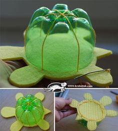 How to Make DIY Turtle Toys from Recycled Plastic Bottles | iCreativeIdeas.com Like Us on Facebook ==> https://www.facebook.com/icreativeideas