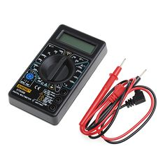 DT-830B Multimeter LCD Auto Range Digital Voltmeter Ohmmeter Volt Tester New -Y103  Price: 3.22 USD