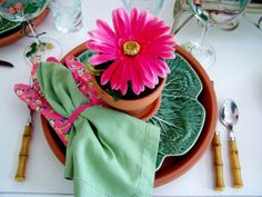 Mother day table setting