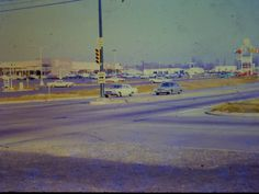 Parole Plaza... Annapolis, MD... circa 1962... (photo looks to have been taken from Forest Dr & Rt 2)...