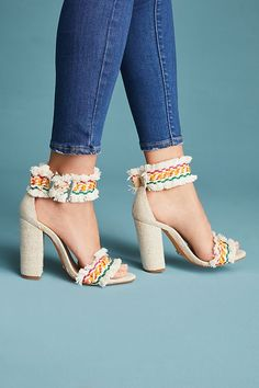 ff35b1bcbe53 Slide View  1  Schutz Zoola Fringed Heels Shoes Heels Wedges