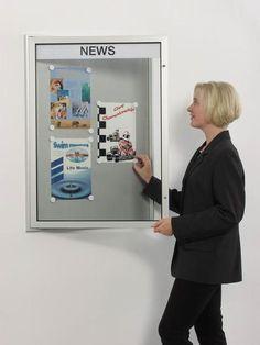 Schaukasten Plakatschaukasten DIN A3 innen / außen von AMS-Displays auf DaWanda.com
