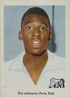 Pele of Santos in 1963.