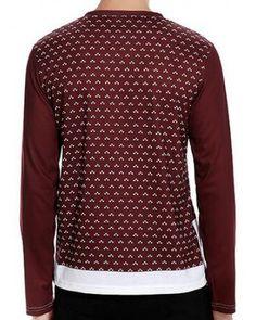 56905a59adb0 Christmas reindeer t shirt V neck long sleeve tee for men