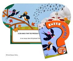 Entre Nuvols. Illustrated book. Abacus