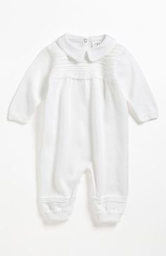 Little Things Mean a Lot Knit Romper (Baby Boys) available at #Nordstrom