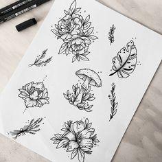 New drawing nature sketch 30 ideas Tattoo Sketches, Tattoo Drawings, Art Drawings, Nature Tattoos, Body Art Tattoos, Tatoos, Flash Tattoos, Petit Tattoo, Kunst Tattoos