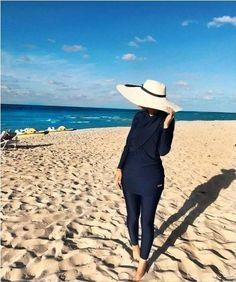 Burkini swimming suits – Just Trendy Girls Mode Abaya, Mode Hijab, Hijab Fashion Summer, Fashion Outfits, Fashion Tips, Hijab Sport, Muslim Women Fashion, Womens Fashion, Muslim Swimwear