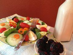 Healthy Cranberry Raspberry Salad Dressing - No sugar, no oil, no artificial sweeteners, no MSG, no high fructose corn syrup. #salad dressing #gluten free #salad